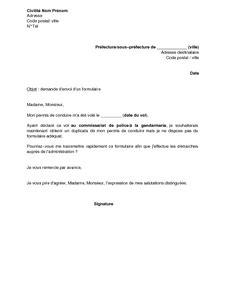 Lettre De Demande D Information Sur Un Dossier Lettre De Demande D Envoi Du Formulaire Pour Obtenir Un