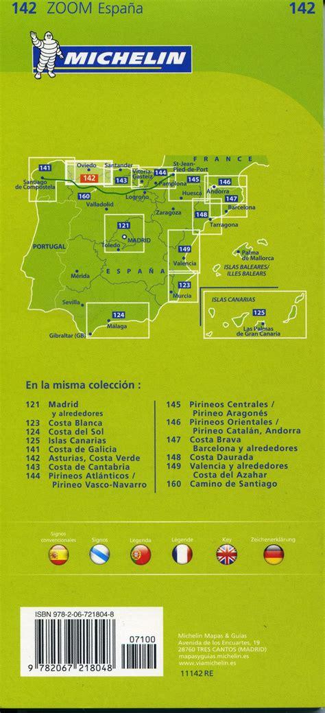 libro asturias costa verde michelin 142 asturias costa verde