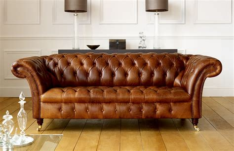 barrington vintage leather sofa leather chesterfield sofas