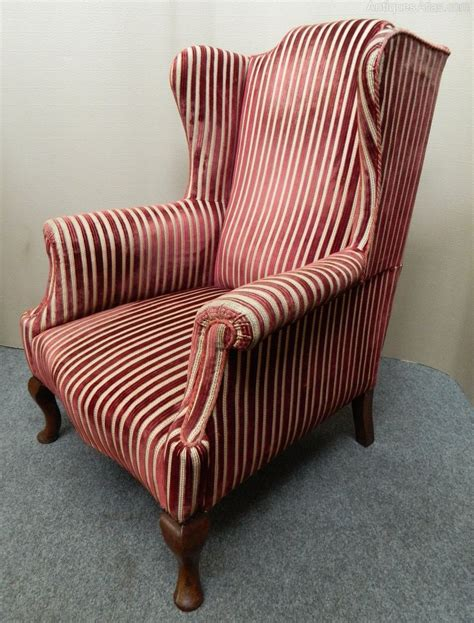 wing back armchair wing back armchair antiques atlas