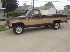 buy used 1978 chevy silverado 20 4x4 100 rust free