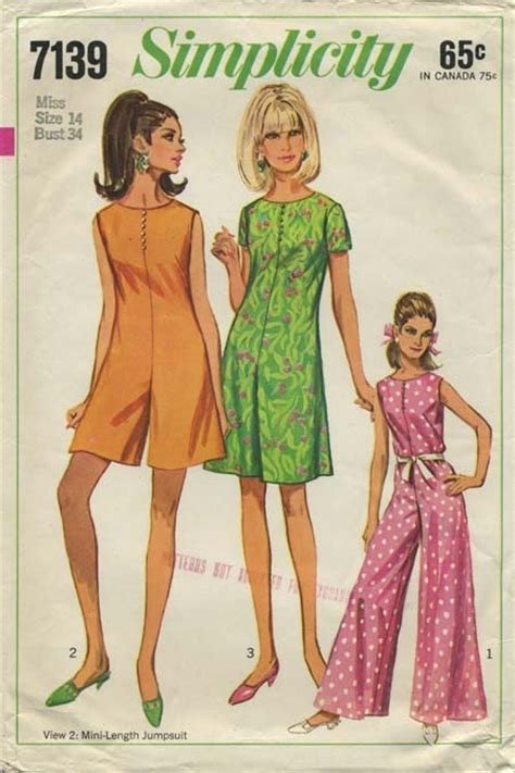 Patterns Sewing Canada | 17 best images about my vintage jumpsuit sewing patterns