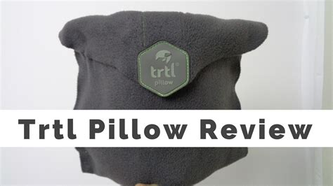 Pillow Review by Trtl Pillow Review Bliss Squared