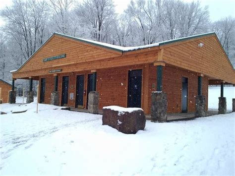 Allegany State Park Cabin Pictures by New Bathhouse With Shower Rooms Picture Of Allegany State Park Cground Salamanca