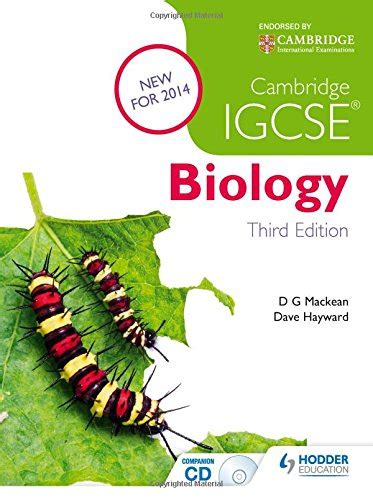 libro cambridge igcse biology coursebook libro cambridge igcse biology cd rom di d g mackean