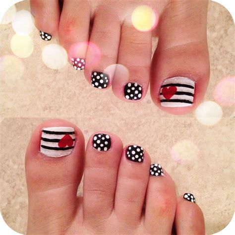 toe nail designs 35 easy toe nail designs ideas 2015