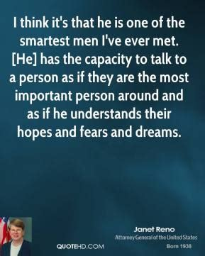 I Think Ive Found The One by Janet Reno Quotes Quotehd