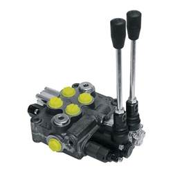 prince hydraulic valve 8 gpm 2 spool model