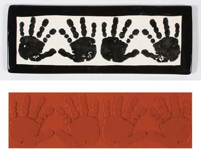 handprint rubber st mayco sts ceramics