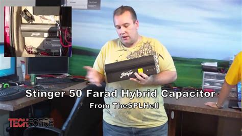 charging a 1 farad capacitor stinger 50 farad hybrid capacitor from thesplhell give away