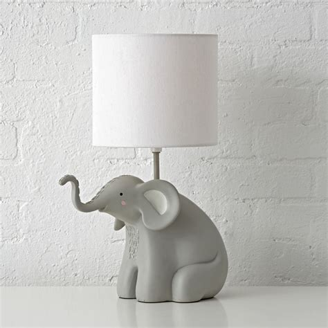 Light Green Bedrooms elephant table lamp the land of nod