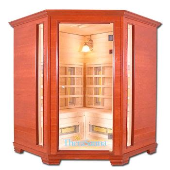 Does A Steam Room Help Detox by Therasauna Corner 4 Person Executive Infrared Sauna Ts6238