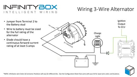 2wire alternator voltage regulator wiring diagram wiring