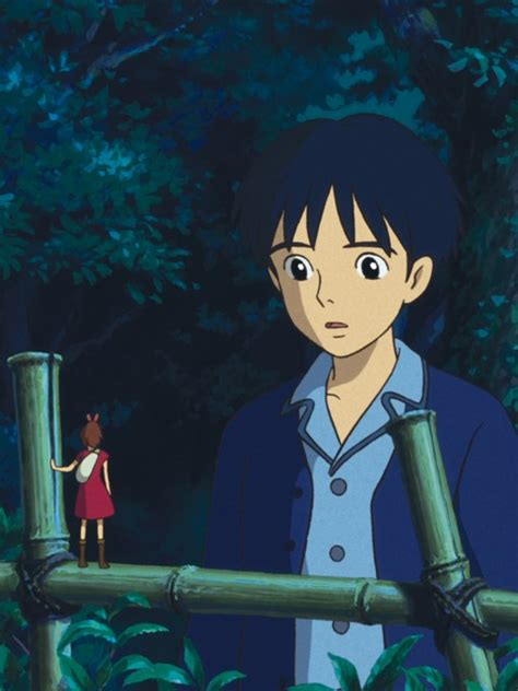 studio ghibli film arrietty arrietty a tale twice borrowed animation magazine