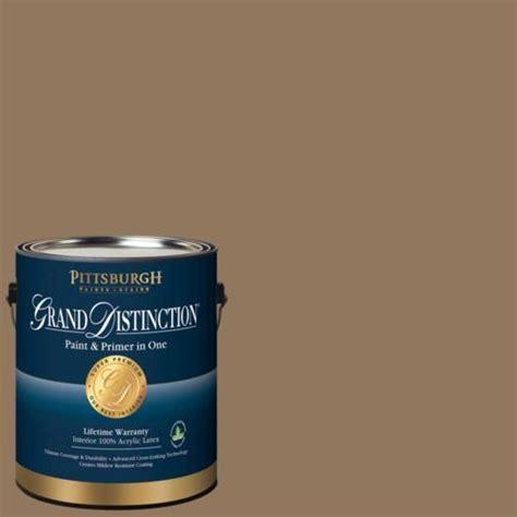 pittsburgh grand distinction hat box brown interior paint 1 gal at menards 174