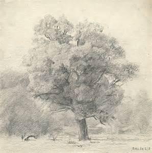 pencil sketch of a tree denis chernov arts ua com