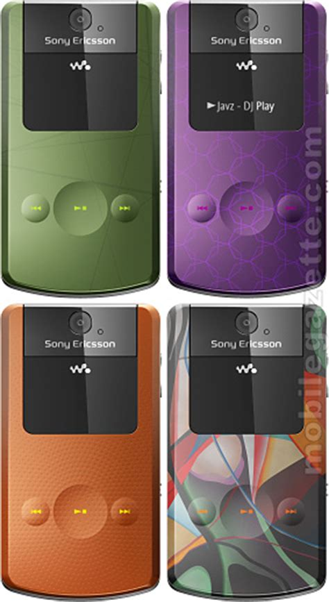 Handphone Sony W508 sony ericsson w508 mobile gazette mobile phone news