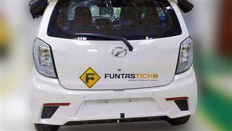 Lu Led Mobil Ayla desain bumper belakang dan lu led perodua axia kembaran