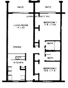 Small Condo Floor Plans by Condominiums Crescent Beach Florida Four Winds Condos Real