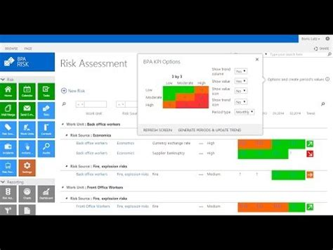 risk management systems overview for sharepoint 2013 youtube