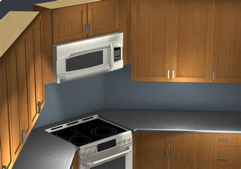 microwave in corner cabinet common kitchen design mistakes corner stove and microwave