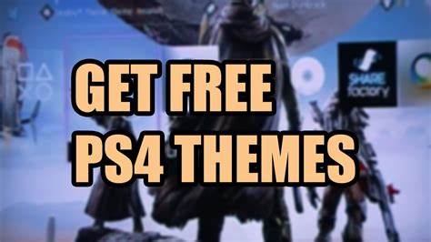 ps4 remove themes ps4 how to change background themes youtube