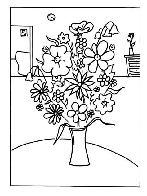 imagenes para pintar cuadros cuadros de flores para colorear