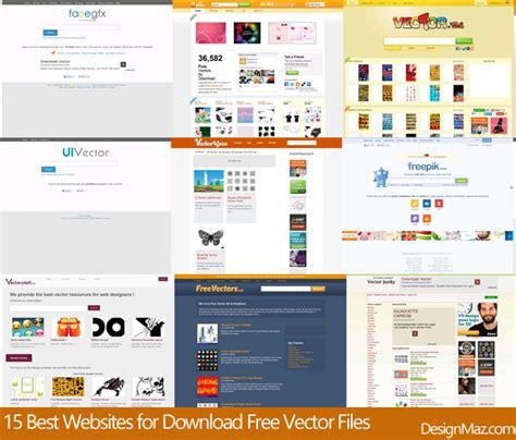 best vector websites 15 best websites for free vector files designmaz