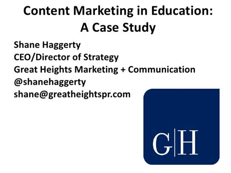 Marketing Education 2 by Content Marketing In Education A Study