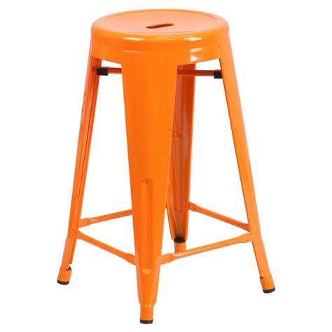 Flash Furniture Metal Stool by Flash Furniture Carlisle 24 In Metal Counter Stool Bar