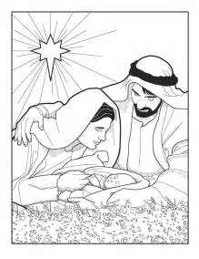 baby jesus coloring pages baby jesus in manger in colour coloring pages