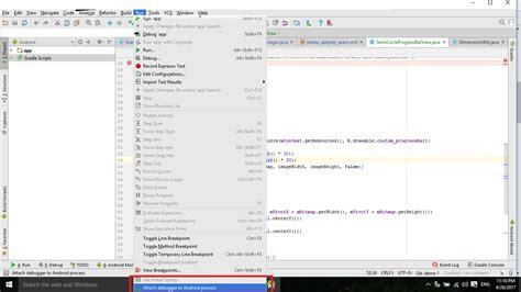 android studio debug layout java android studio debug application on device stack