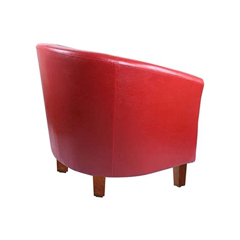 Leather Tub Dining Chairs Leather Tub Chair Armchair For Dining Living Room Office Reception Z9k5 Ebay