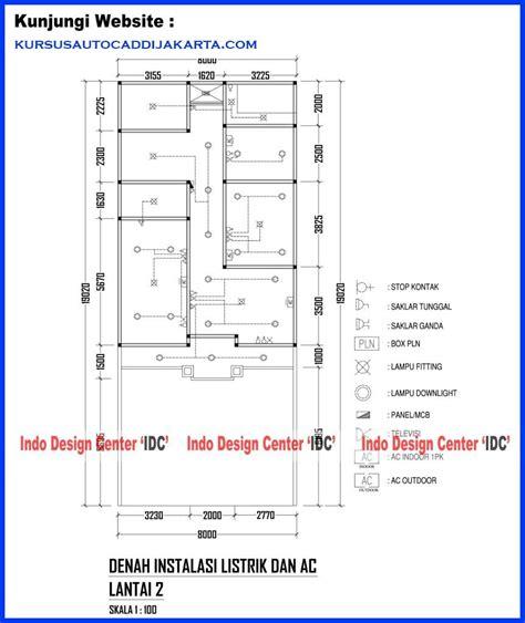 desain rumah 2 lantai arsip kursus privat autocad 2d 3d
