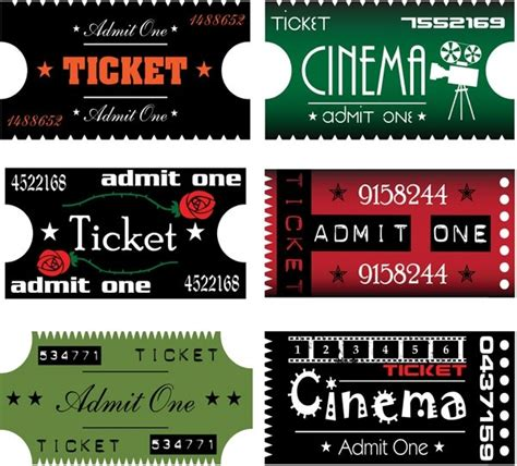 movie ticket clip art free vector in encapsulated