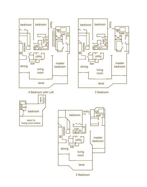 sands of kahana building layout puunoa beach estates floor plans lahaina maui