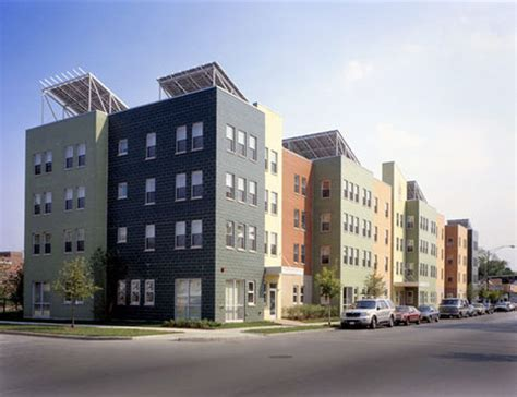 low income housing chicago jetson green wentworth commons sets standard for green low income housing