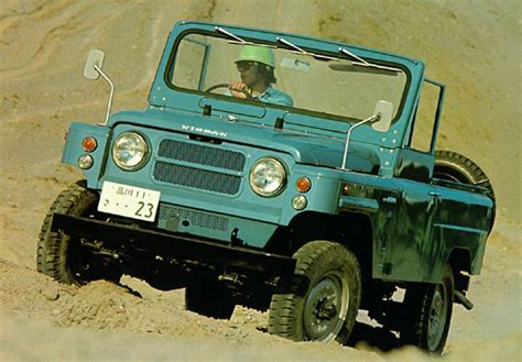 1971 nissan g60 patrol lwb soft top s u v truck