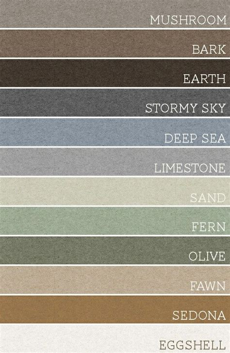 bark earth sky sea limestone sand fern olive fawn sedona and