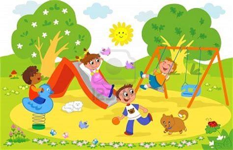imagenes de niños jugando en un parque dibujo de ni 241 os jugando en un parque imagui