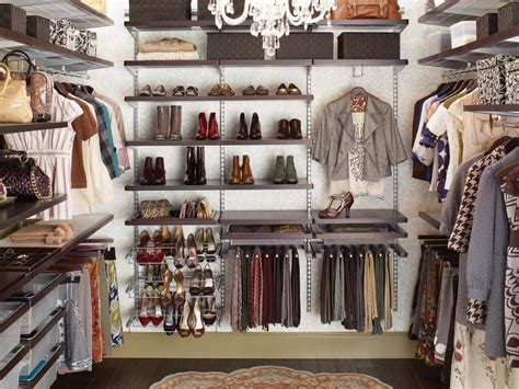 In A Closet by Make Your Closet Look Like A Chic Boutique Bedrooms Bedroom Decorating Ideas Hgtv