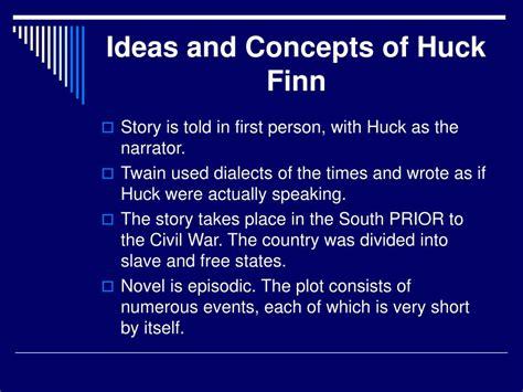 huckleberry finn themes ppt ppt the adventures of huckleberry finn mark twain
