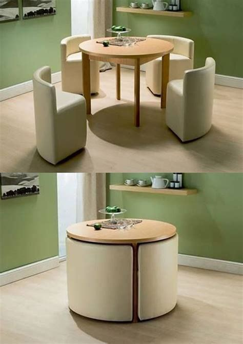 compact chair for small space 20 compact tables and chairs that maximize limited space