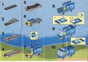 Stud Io Building Instructions lego 6661 mobile tv studio set parts inventory and