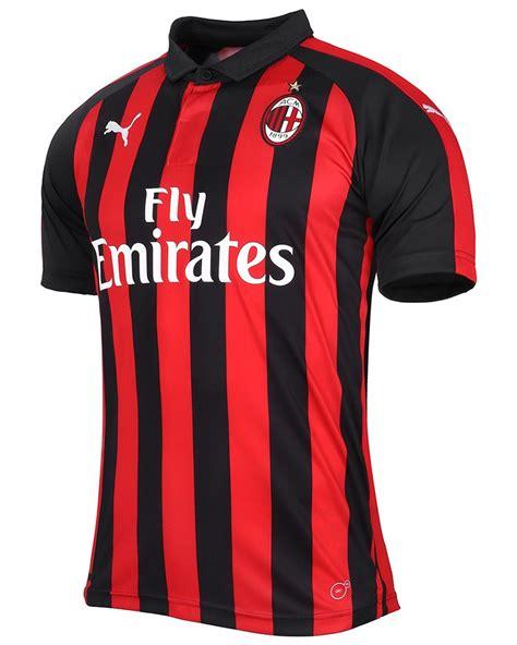 Ac Milan 19 ac milan home kit 2018 19 marca de gol