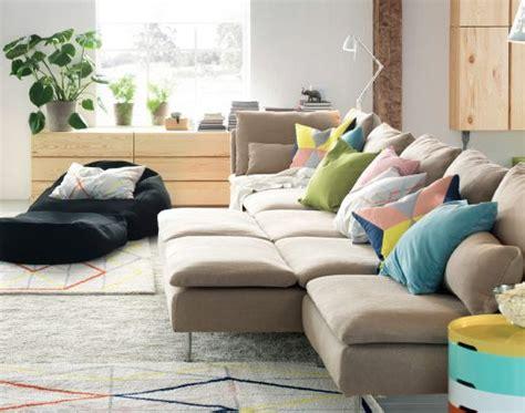 buntes sofa s 214 derhamn sitzelemente mit bezug repl 246 sa in beige