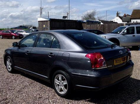 Toyota Avensis 2006 Manual Used Toyota Avensis 2006 Diesel 2 0 D 4d T3 X 5dr