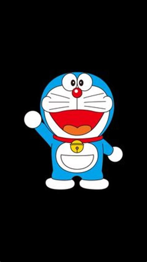 wallpaper doraemon black when he grins like this mouth always curls up on the