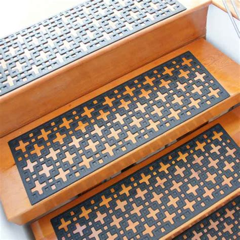 Stair Tread Mats quot quot rubber stair treads