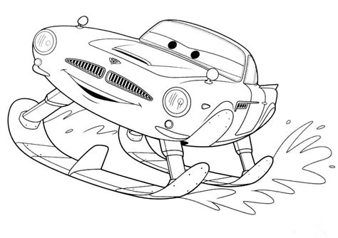 printable coloring pages cars 2 free coloring pages of finn mcmissile